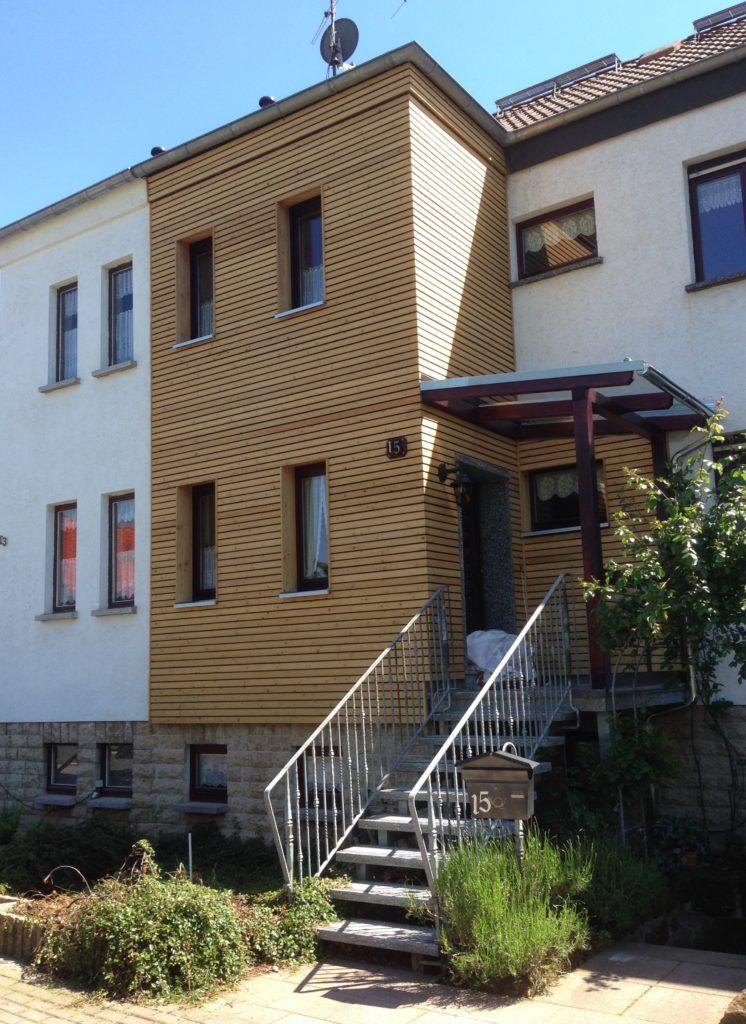 Vordach und Überdachung Holzbau