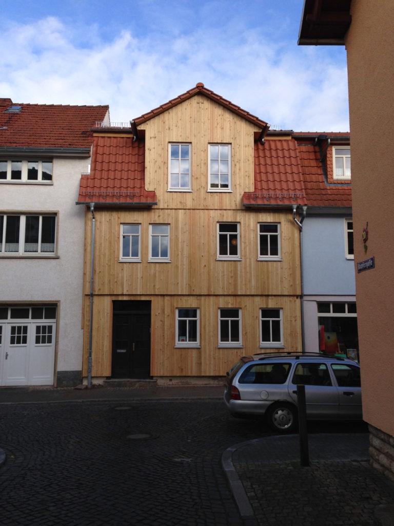 Holzfassaden mit ökologischer Dämmung