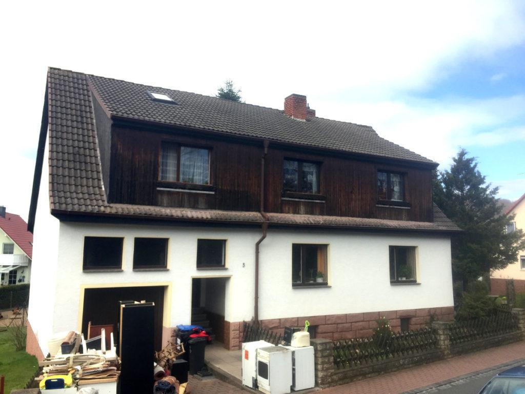 Dachgeschoss Erker Ausbau Aufstockung Thüringen