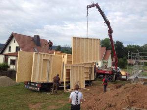Holzrahmenbauweise für modernes Bauen