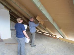 Dachdämmung, Dachsanierung, neue Dachfenster in Hessen