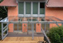Vordach Holzbau Klingebiel Terrassendach