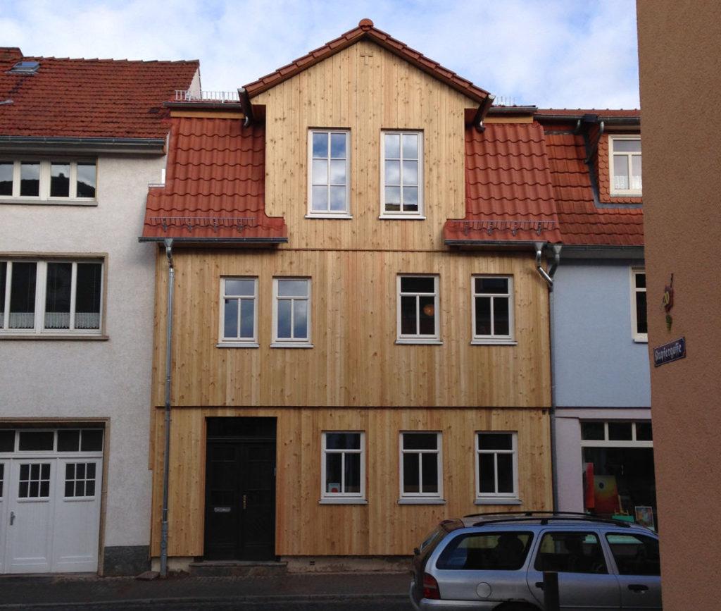 Fassadensanierung Holzbau Klingebiel