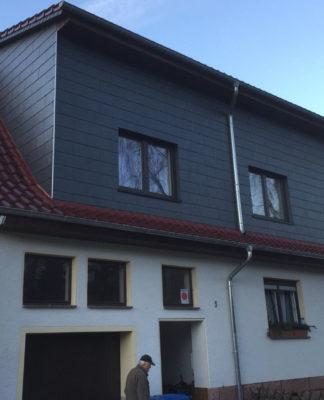 Dachsanierung und Erker Ausbau Aufstockung Thüringen