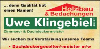 Stellenanzeige Zimmerer Dachdecker Göttingen Eichsfeld