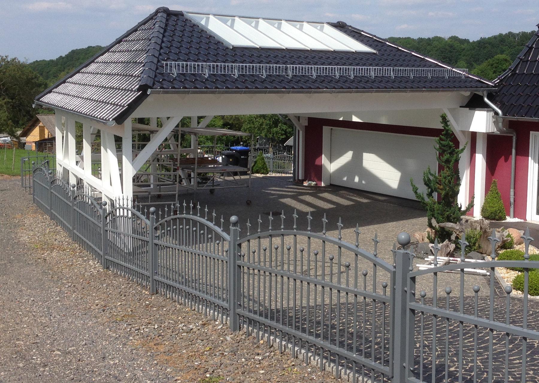 Ein hochwertiger Carport | Holzbau & Bedachungen Uwe Klingebiel