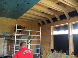 Dächer aufstocken in Holzrahmenbau mit Dämmung