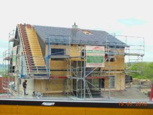 Dächer aufstocken in Holzrahmenbau