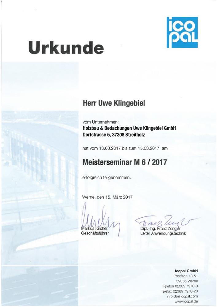Meisterbetrieb Holzbau Klingebiel